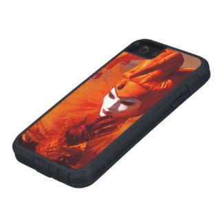 Venice, Italy (IT) - Orange Carnival Costume iPhone 5 Cases