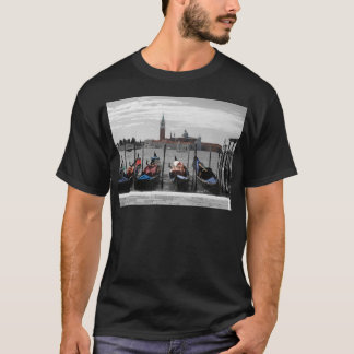 Venice Mens Black T-Shirt