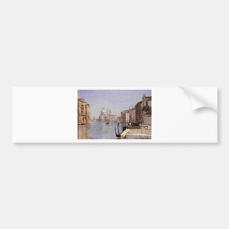 Venice - View of Campo della Carita looking ... Bumper Sticker