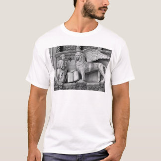 VENICE WINGED LION B/W T-Shirt