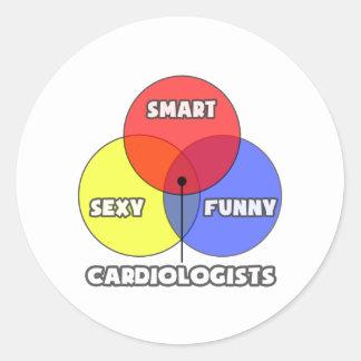 Venn Diagram .. Cardiologists Sticker