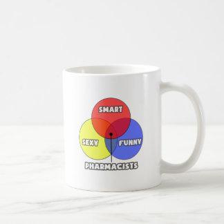 Venn Diagram .. Pharmacists Coffee Mug