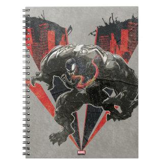 Venom Ink And Grunge Notebooks