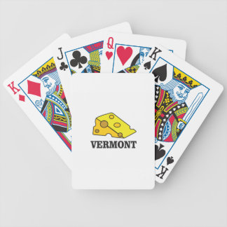 Vermont Cheddar Bicycle Playing Cards