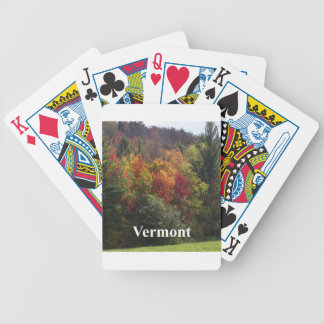 Vermont Color Bicycle Playing Cards