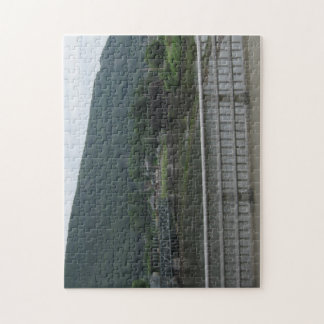 VERMONT / NEW HAMPSHIRE STATE LINE RIVER JIGSAW PUZZLE