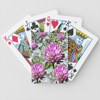 Vermont Red Clover Bicycle Playing Cards
