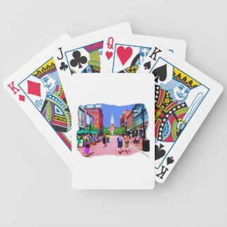 Vermont Street Painting Bicycle Playing Cards