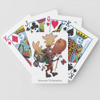 Vermoosin' Da Mountainz Bicycle Playing Cards