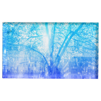 Vernal Tree Table Number Holder