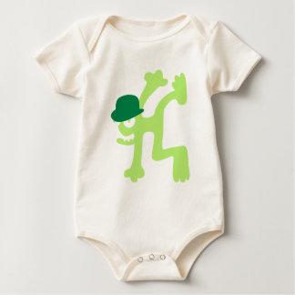 verrückte Kreatur als Breakdancer Baby Bodysuit