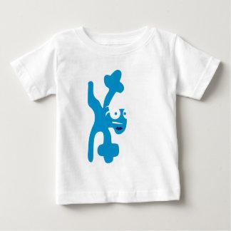 verrückte Kreatur als Breakdancer Baby T-Shirt