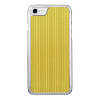 Vertical Stripes Chartreuse Yellow Green Carved iPhone 7 Case