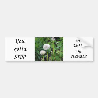 Vertical templates bumper sticker
