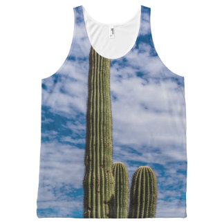 Verticality in Nature All-Over Print Singlet