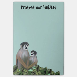 Vervet Monkey Habitat Post-it® Notes