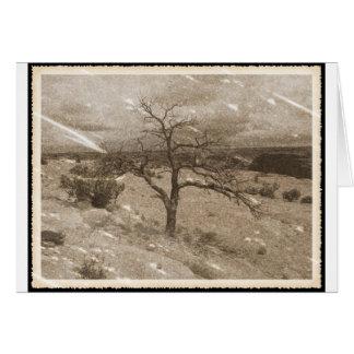 Very Aged Photo Card