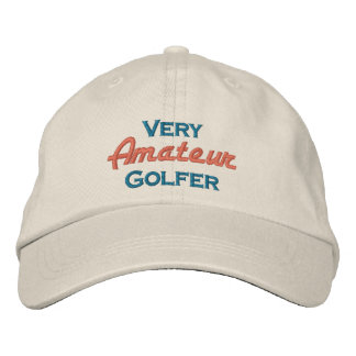 Very Amateur Golfer Embroidered Baseball Cap