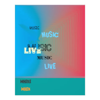 Very Colourful > Music Flyer