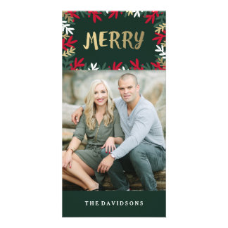 Very Merry Photo Greeting Card