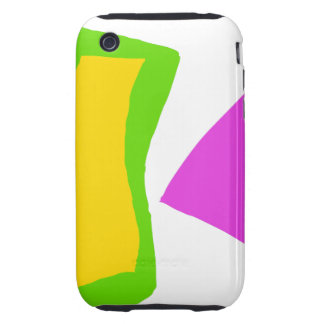 Very Simple without Stress Gives You Dreams Tough iPhone 3 Cover