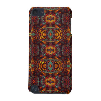 Very stylish orange Fractal Art Design iPod Touch 5G Covers