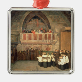 Vespers in the Saint Francis Church Christmas Ornament
