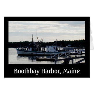 """Vessel"" Boothbay Harbor Greeting Card w/envelopes"