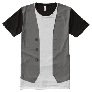 Vest All-Over Print T-Shirt