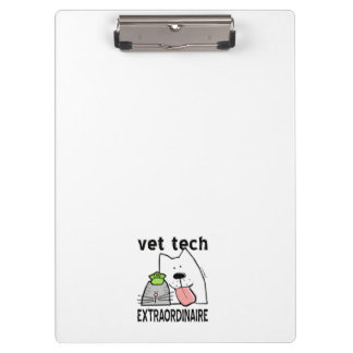 Vet Tech Extraordinaire Clipboard