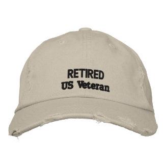 veteran cap embroidered hats