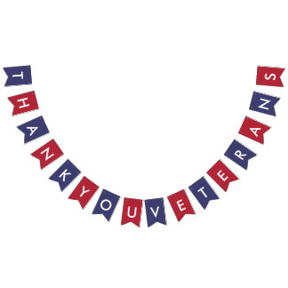 Veterans Day Typography American Flag Colours