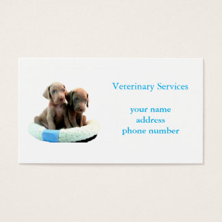 Veterinary Services Card