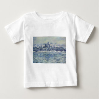 Vetheuil, Ice Floes by Claude Monet Baby T-Shirt