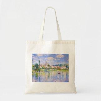 Vetheuil in Summer Claude Monet Tote Bag