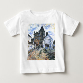 Vetheuil, The Church by Claude Monet Baby T-Shirt