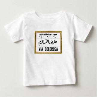 Via Dolorosa, Jerusalem Street, Israel Baby T-Shirt