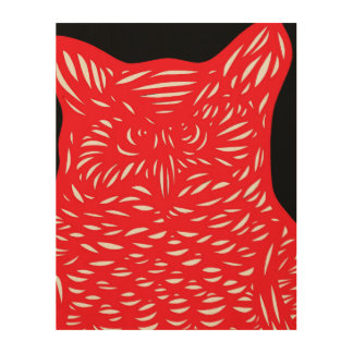 Vibrant Brave Adorable Angelic Wood Prints