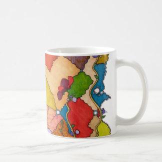 Vibrant chaos Mug