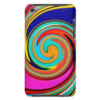 Vibrant Colorful Abstract Swirl of Melted Crayons iPod Touch Covers
