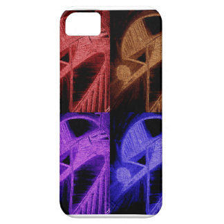 vibrant edgy colors barely there iPhone 5 case