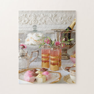 Vibrant English Tea, Fondant Fancies Puzzle