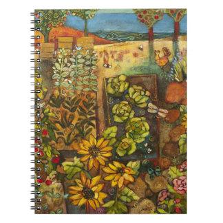 Vibrant Garden Notebook