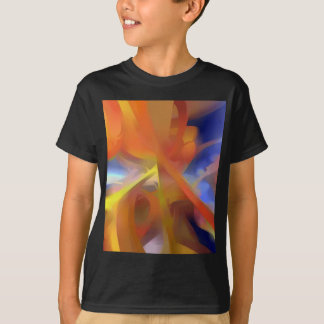 Vibrant Love Pastel Abstract T-Shirt