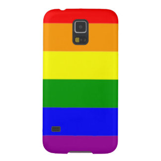 Vibrant Rainbow Flag Gay Pride Galaxy S5 Case
