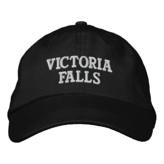 Victoria Falls Embroidered Hat