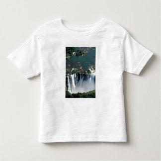 Victoria Falls, Zambia to Zimbabwe border. The T-shirt