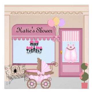 Victorian Baby Shower Invitation for Girl