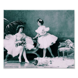 Victorian Ballet Poster