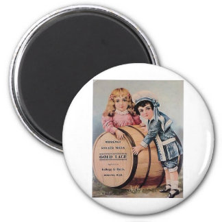 Victorian Boy and Girl Magnet